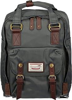 Doughnut Macaroon Laptop Backpack One Size Charcoal