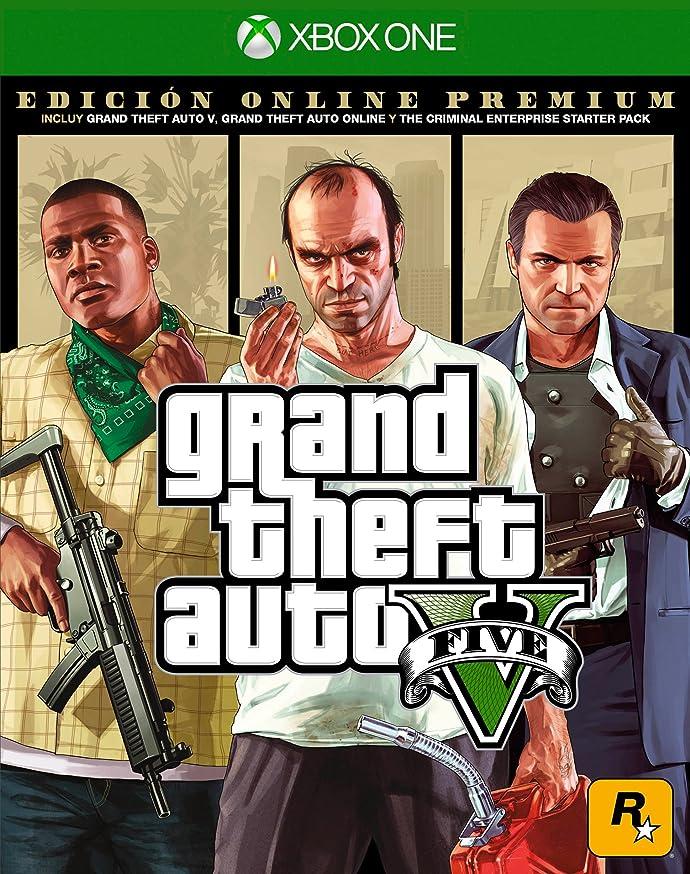 Grand Theft Auto V Premium Online Edition - Xbox One Standard Edition