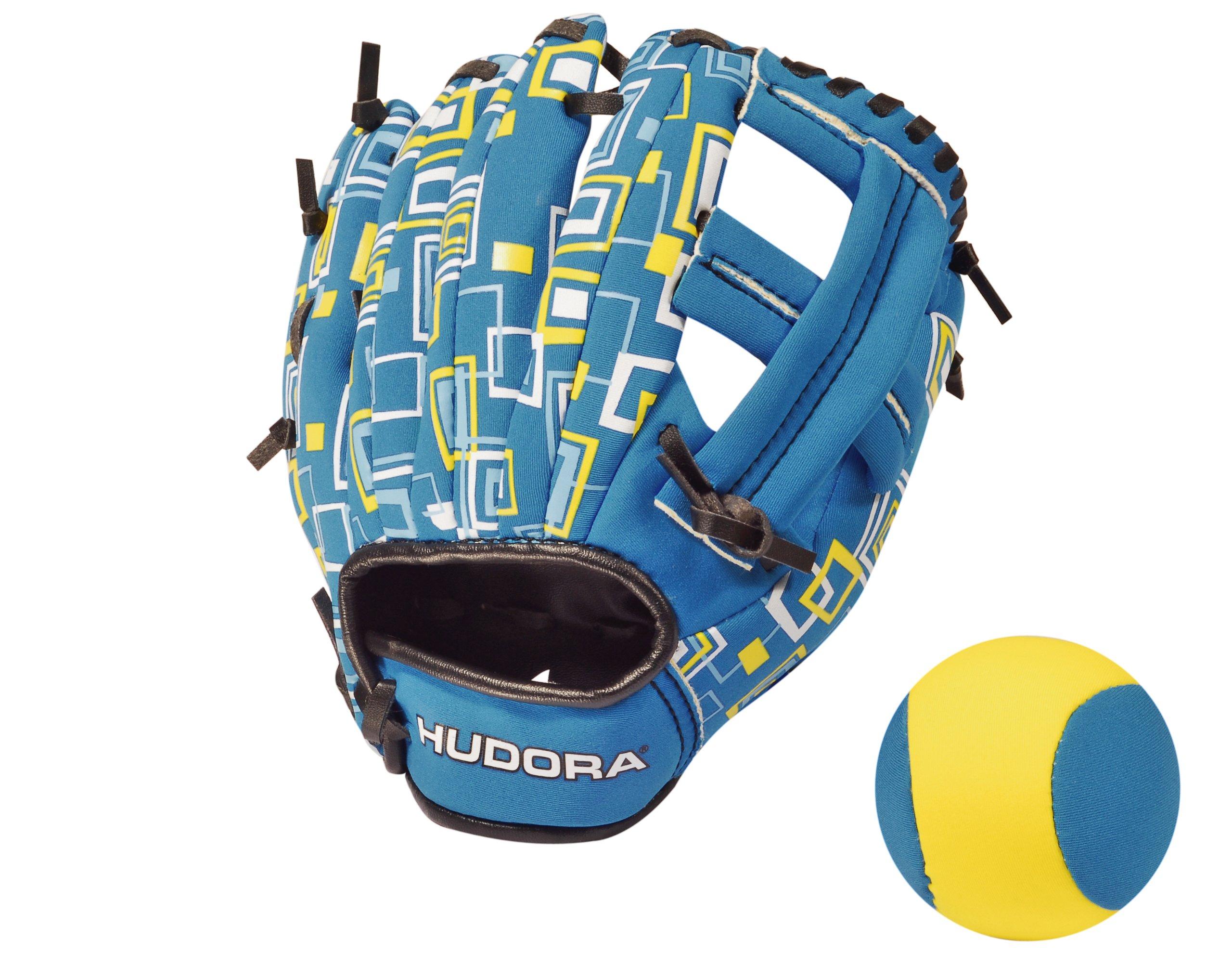 Hudora Softgrip 3.0 - Juego de Guante y Pelota de Baseball: Amazon ...