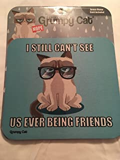 Grumpy Cat Mat Glasses deluxe i still cant see us ever being friends