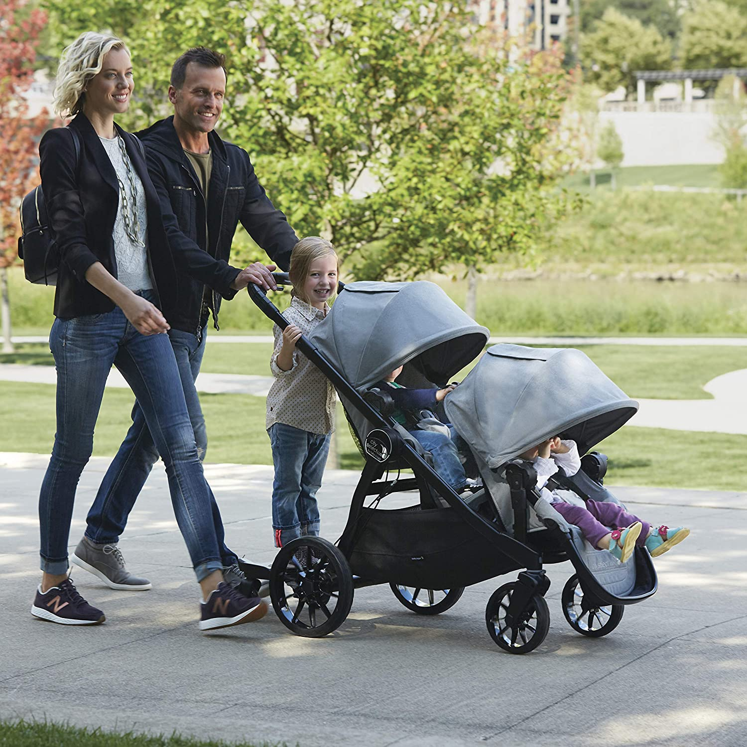 Baby Jogger Glider Board for City Mini 2, City Mini 2 Double, City Mini GT2, City Mini GT2 Double, City Select, and City Select LUX Strollers, Black