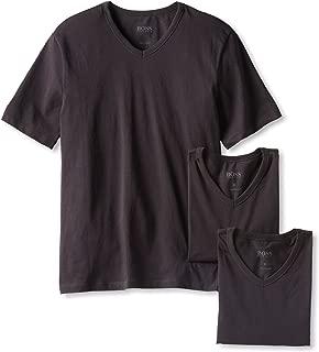 BOSS HUGO BOSS Men's 3-Pack Cotton V-Neck T-Shirt