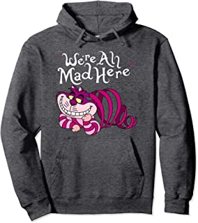 Cheshire Cat We're all Mad Here Cat Hoodie