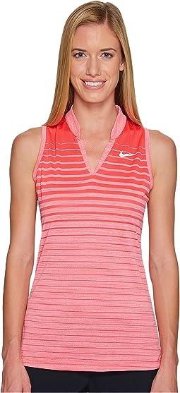 Nike Golf - Precision Fall Sleeveless Jacquard Polo