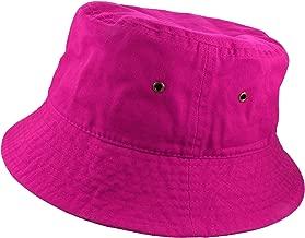 Gelante 100% Cotton Packable Fishing Hunting Summer Travel Bucket Cap Hat