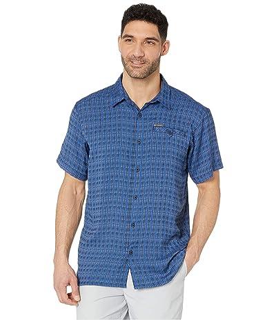 Columbia Declination Trailtm II S/S Shirt (Collegiate Navy Stripe) Men