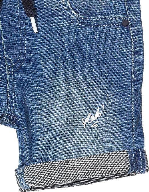 B/éb/é gar/çon Taille Fabricant:18M Bleu 18-24 Mois IKKS Junior Pantalon Jean Denim Patch Stone Blue 85