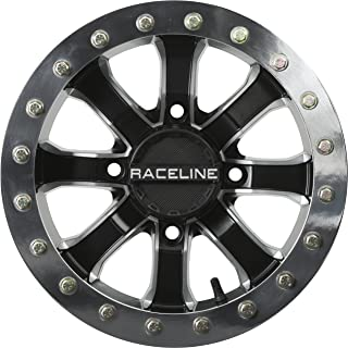 Raceline RT-Mamba Beadlock 14 Black Wheel / Rim 4x156 with a 0mm Offset and a Hub Bore. Partnumber A7147056-43