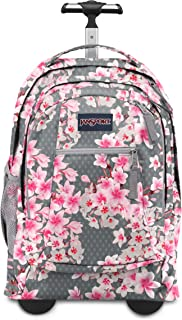 Jansport Driver 8 Rolling Backpack - Wheeled Travel Bag with 15-Inch Laptop Sleeve