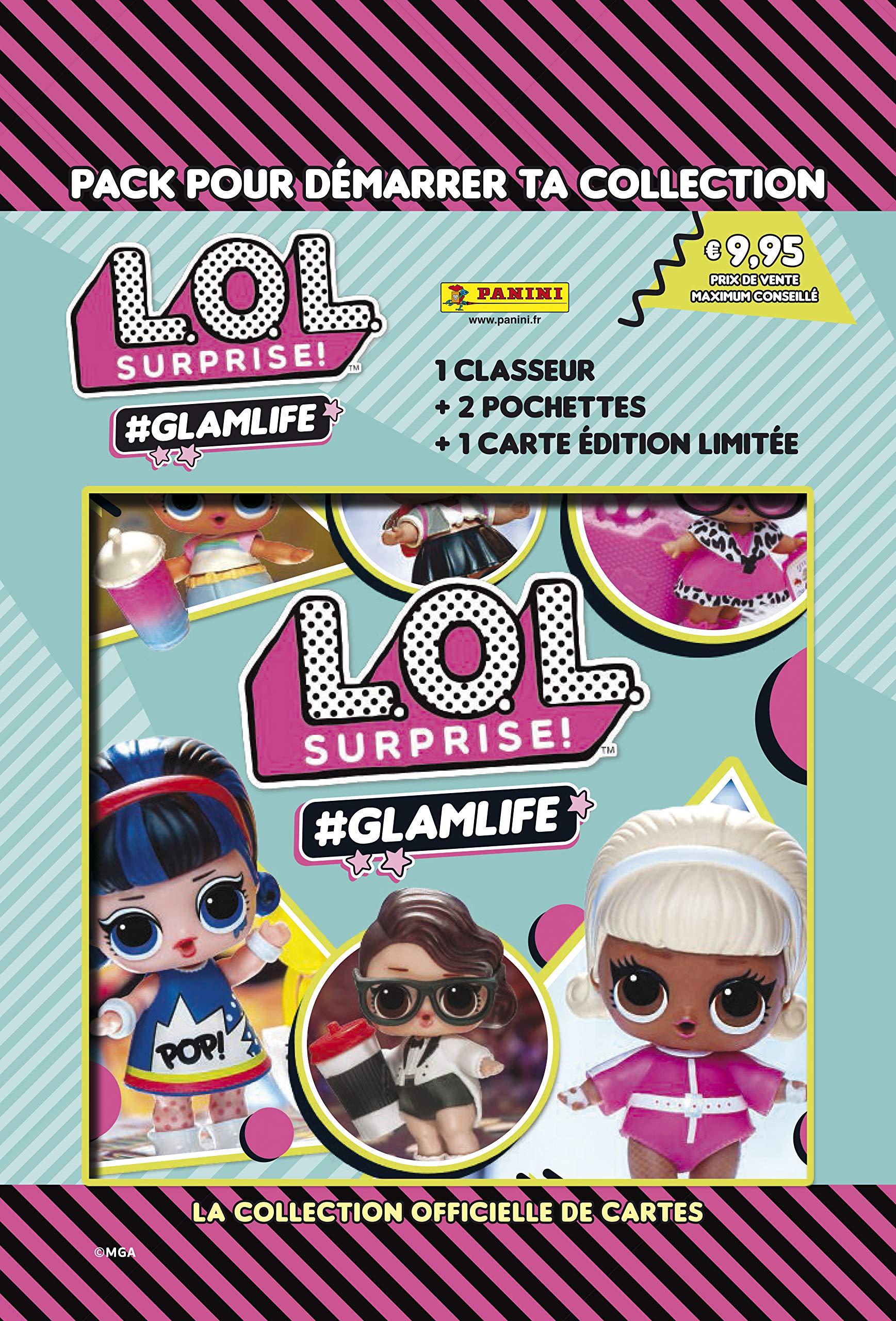 L.O.L Sorpresa! #GlamLife Trading Card Collection Starter Pack: Amazon.es: Juguetes y juegos