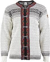 DALE OF NORWAY Men's Setesdal Unisex Jacket A-Off-White/Black X-Large
