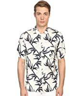 Marc Jacobs - Shadow Leaf Classic Short Sleeve Button Up