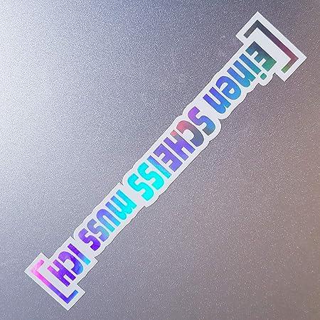Folien Zentrum 2x Fuck You Smiley Weiß Hologramm Oilslick Rainbow Flip Flop Aufkleber Metallic Effekt Shocker Auto Jdm Tuning Oem Dub Decal Sticker Illest Dapper Oldschool Auto
