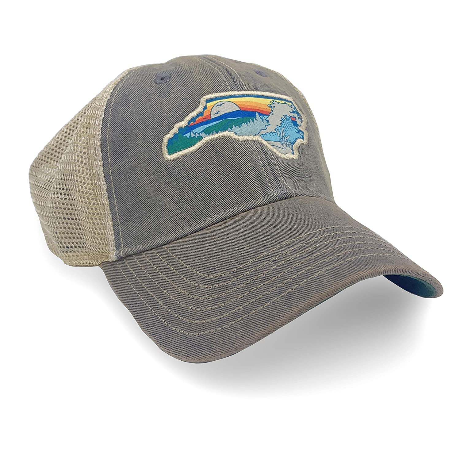 North Limited price sale Carolina Outdoors Patch Surprise price Trucker Weathered - Unstruct Hat