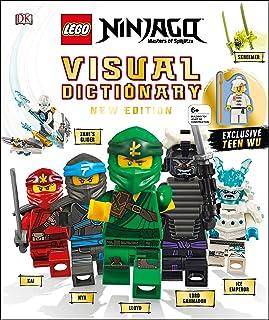 Lego Ninjago Visual Dictionary, New Edition: With Exclusive Teen Wu Minifigure