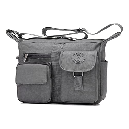 2f95738acc Fabuxry Women s Shoulder Bags Casual Handbag Travel Bag Messenger Cross  Body Nylon Bags