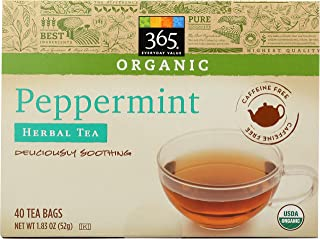 365 Everyday Value Organic Peppermint Tea, 1.83 oz