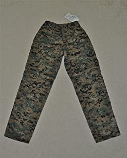 G.I. USMC Woodland MARPAT MCCUU Trousers w/ Perimeter Insect Guard - Sz. Medium-Regular