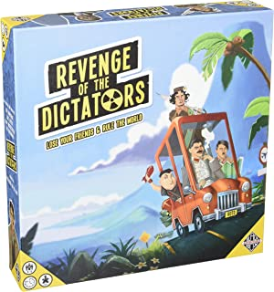 Black Box Adventures Revenge of The Dictators Strategy Board Game