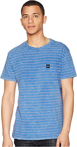 RVCA Washout Short Sleeve Knit T-Shirt