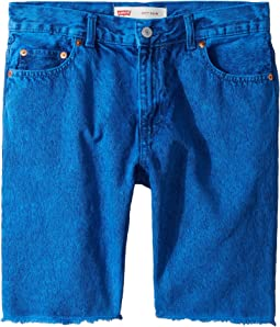 511 Slim Fit Overdyed Color Denim Shorts (Little Kids)
