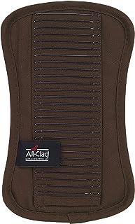 All Clad Textiles Premium Collection Soporte para Maceta de Silicona y Sarga 100% algodón Pesado, Chocolate, 6 Inch by 10 Inch, 1