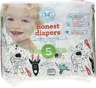The Honest Company Diapers,  Space Travel,  Size 5,  25 Count