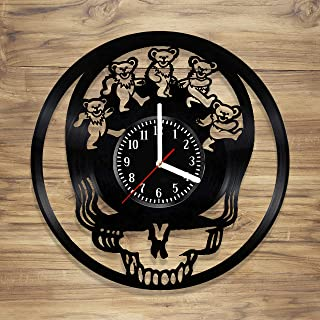 grateful dead wall clock