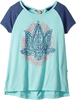 Lucky Brand Kids - Mila Burnout Jersey Tee (Big Kids)