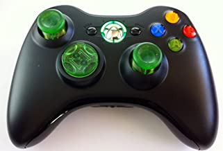 Drop Shot, Auto-aim, Xbox 360 Modded Controller for COD Advanced Warfare,Ghost Black Ops 2, Mw3, Mw2, Rapid Fire Mod(clear Green)