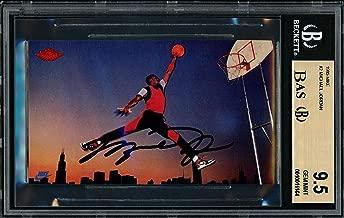 Best autographed michael jordan rookie card Reviews