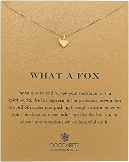 Dogeared - What A Fox Reminder Necklace