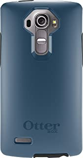 OtterBox Symmetry Case for LG G4 - Retail Packaging - Dark Deep Water Blue/Slate Grey (Not Compatible with Leather LG G4)