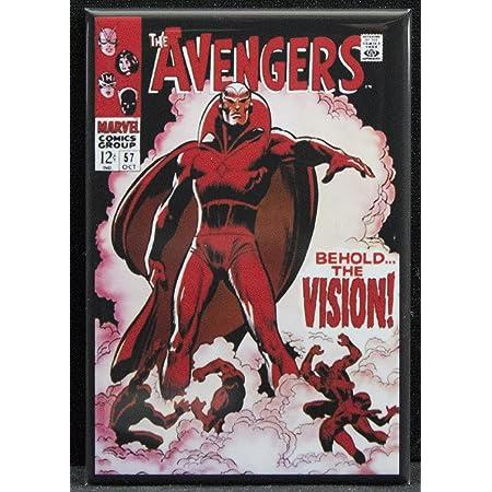 Avengers #57 FRIDGE MAGNET comic book