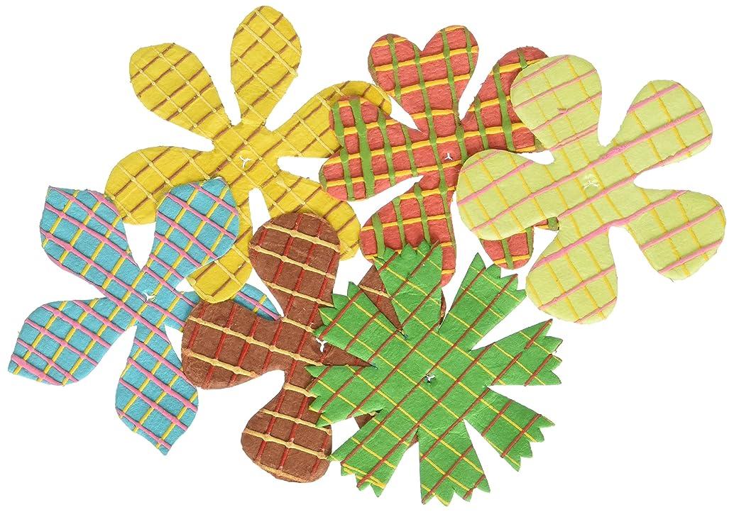 Prima 528508 Scribbles Flower Embellishment, Grid