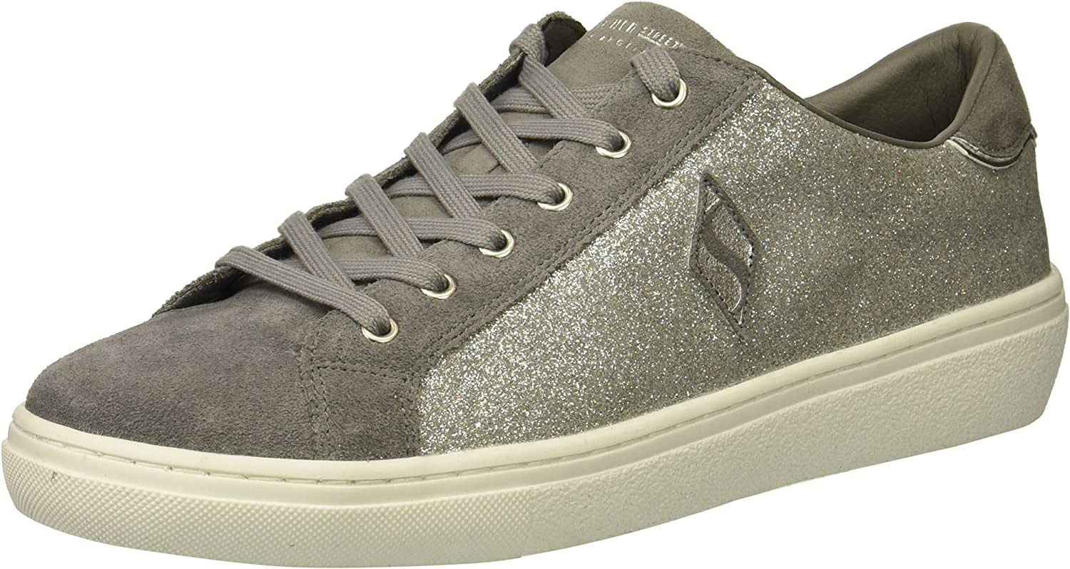 Skechers Womens goldie - Glitter Kicks Sneaker