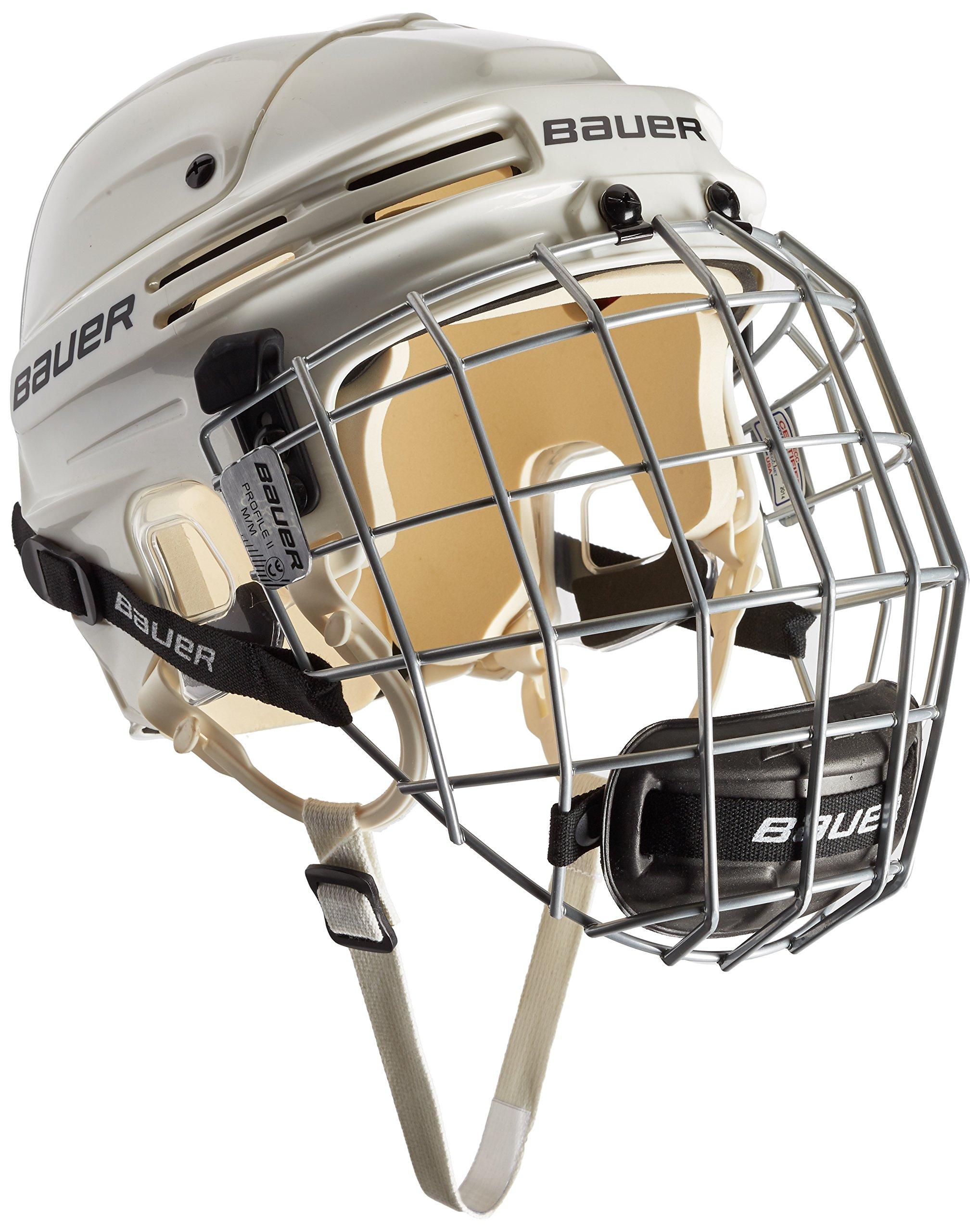 Casco de Hockey Sobre Hielo Color Bauer Eishockeyhelm 4500 Combo mit Gitter