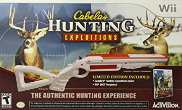 Cabela's Hunting Expeditions with Gun (Nintendo Wii)