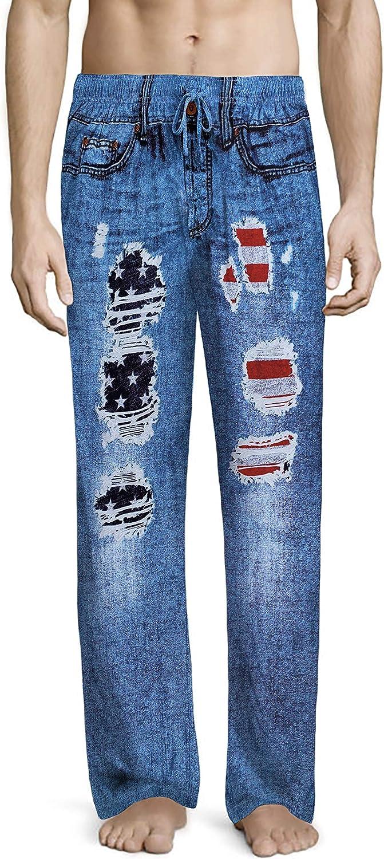 Under Disguise Men's Generic Pant Max 78% OFF Denim Low price Pajama Faux