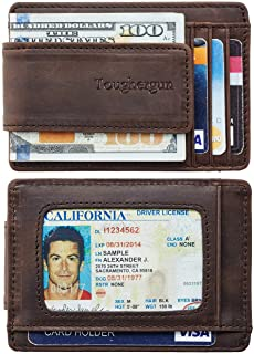 Best slim mens wallet with money clip Reviews