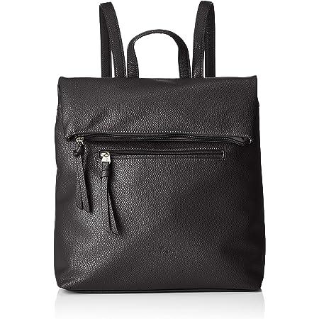 TOM TAILOR bags TINNA Damen Rucksack L, black, 32x11,5x33