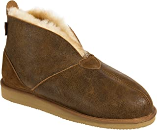 Men's Gunner Australian Merino Sheepskin Slippers with Arch Support
