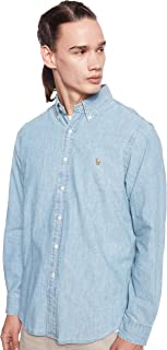 Ralph Lauren Mens Denim & Chambray Sport Hooded