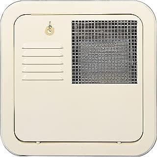 Suburban 6259ACW Flush Mount 10 Gallon Water Heater Door-Colonial White