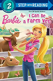 I Can Be a Farm Vet (Barbie: Step into Reading, Step 2)