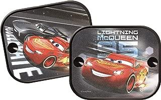 Merchandiseonline Disney/Pixar's Cars - Sunscreen/Sun Blinds/Sunshade Set (2 Sunscreens) (Lightning McQueen)