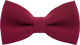 baby red bow tie