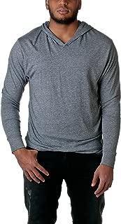 6021 Tri-Blend Long Sleeve Hoody - Premium Heather - M