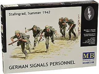 Master Box German Signals Personnel Stalingrad Summer 1942 (5) Figure Model Building Kits (1:35 Scale)