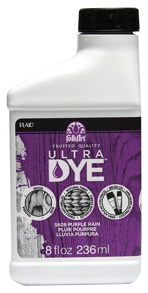 FolkArt Ultra Dye in Assorted Colors (8 Ounce), 5608 Purple Rain